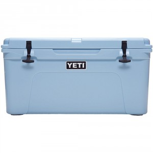 yeti 45 quart blue cooler