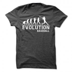evolution baseball tshirt