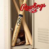 Rawlings personalized baseball bat