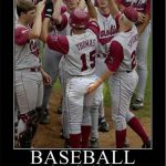 baseball a game of hand signals player grabbing another players butt meme