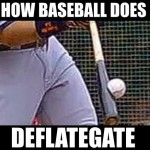 how baseball does deflategate crushed baseball meme