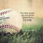 baseball is a love