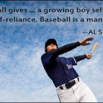 baseball is a man maker al spalding