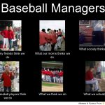 baseball managers meme