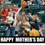 baseball mothers day meme