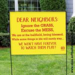 dear neighbors
