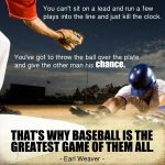 thats why baseball is the greatest