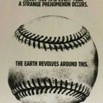 earth revolves around baseball