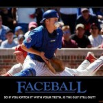 faceball player gets hit in face with baseball meme