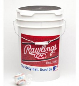 rawlings bucket of baseballs