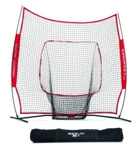 rukket 7 x 7 baseball and softball practice net