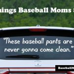 these baseball pants are never gonna come clean