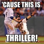 thriller baseball meme