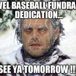 travel ball fundraiser jack nicholson meme