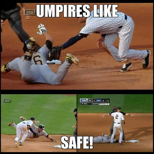 Famous baseball umpire quotes