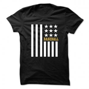 baseball flag tshirt