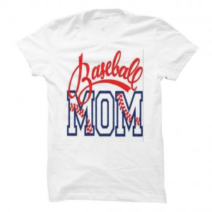 baseball mom tshirt