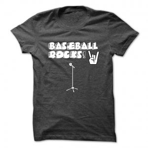 baseball rocks tshirt