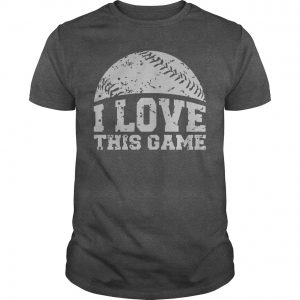 i love this game tshirt