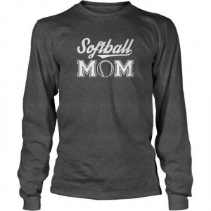 softball mom long sleeve tshirt
