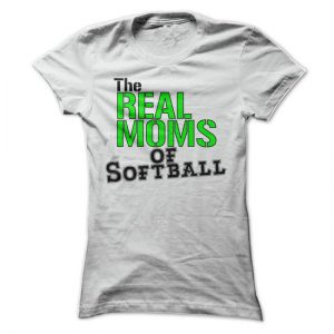 the real moms of softball tshirt