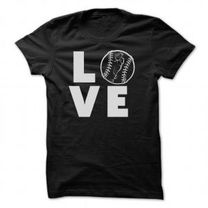 LOVE softball tshirt