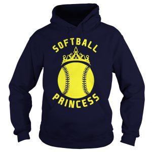 softball princess hoodie