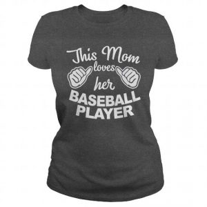 this mom loves her baseball player