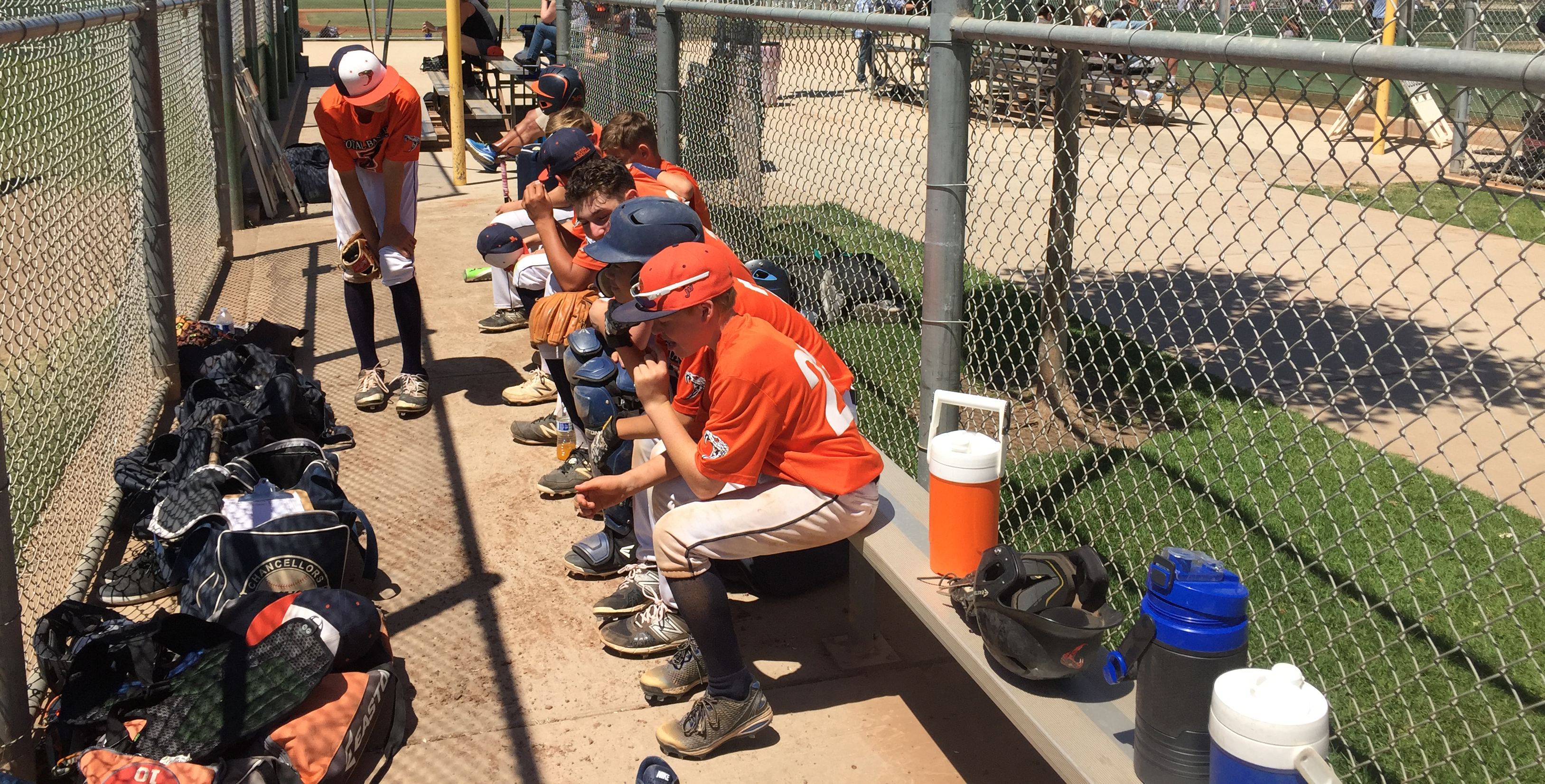 disorganized dugout cropped