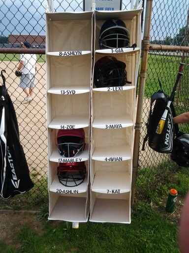 do it yourself helmet rack closet organizers