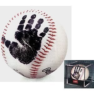 First handprint baseball