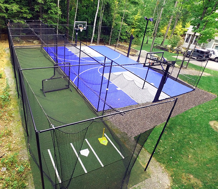 dual sports courts