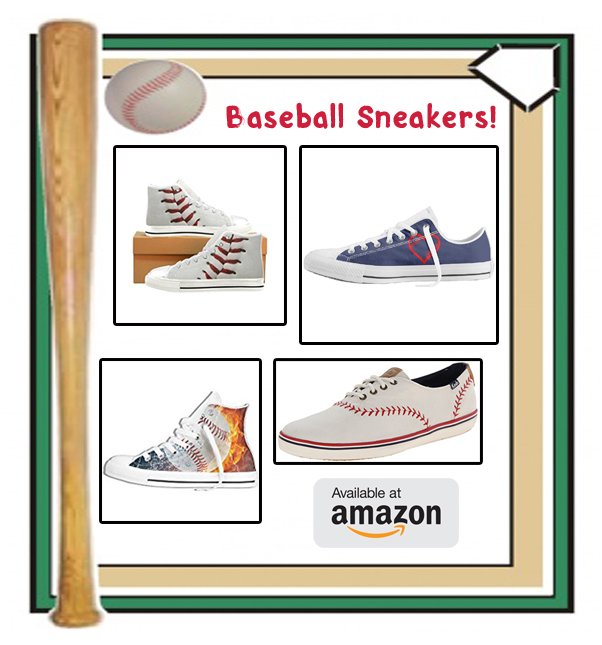 Amazon baseball sneakers banner square