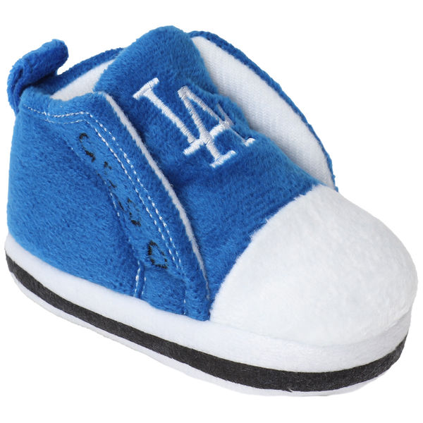 Newborn & Infant Los Angeles Dodgers High Top Baby Booties