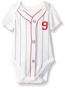 baseball baby onesie