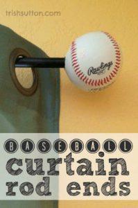 baseball-curtain-rod-ends