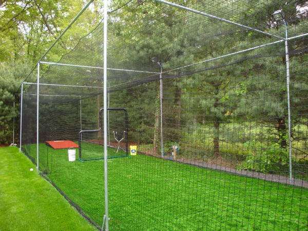 Building A Home Batting Cage - Backyard batting cages for sale