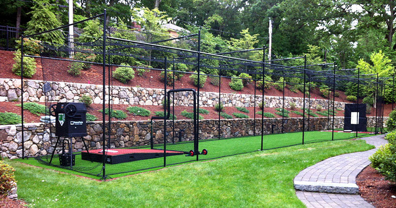 A Home Batting Cage - Backyard batting cages for sale