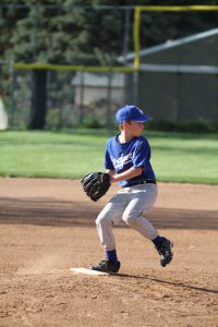 boy pitching