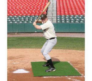 home plate stance mat