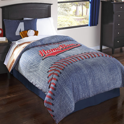 Home Run Comforter Set by Hallmart Kids