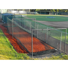 Backyard Batting Cage Ideas backyard baseball cages Permanent Home Batting Cage