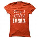 limited edition this girl loves baseball
