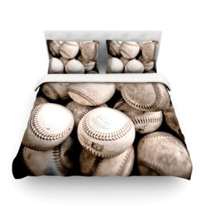 On the Mound by Debbra Obertanec Featherweight Duvet Cover by KESS InHouse