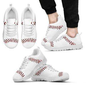 printed kicks baseball sneakers
