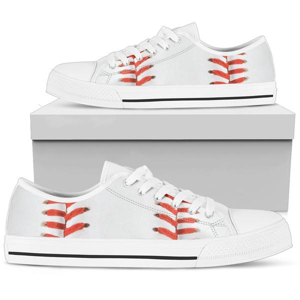 printed kicks bright white baseball sneakers