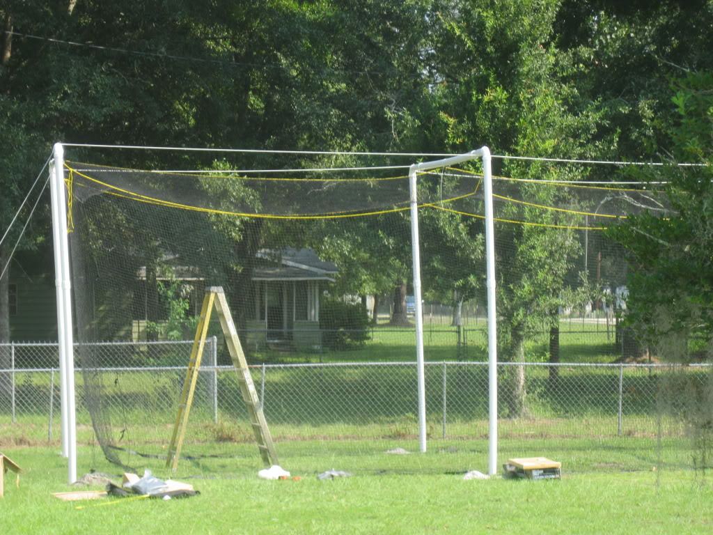 Diy Pvc Batting Cage