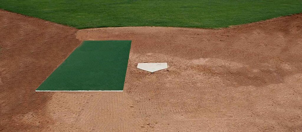 turf home plate stance mat