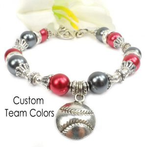 custom team colors bracelet