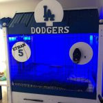 custom Dodgers bed